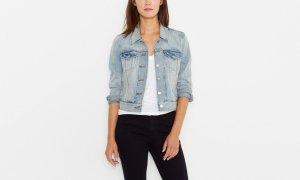 minimal- jean jacket